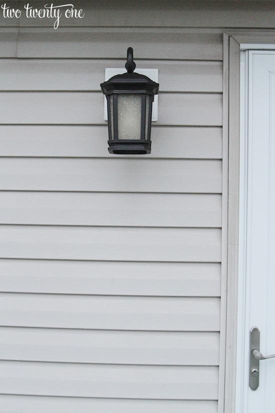new outdoor patio light