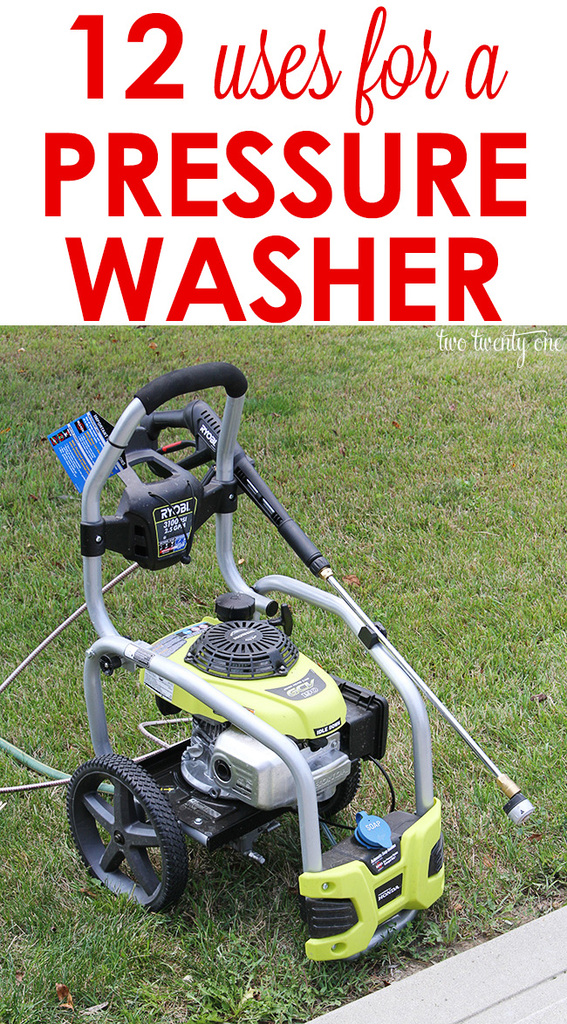 Uses For A Pressure Washer