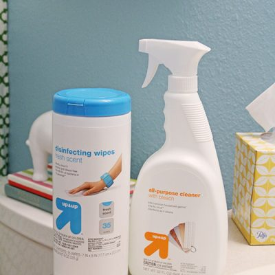 Cleaning With Target up&up Products