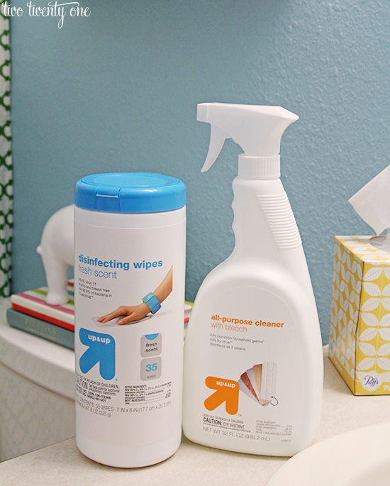 target up and up cleaners