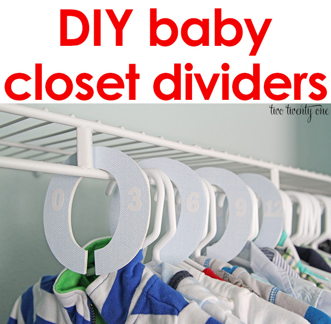 Baby Closet Dividers