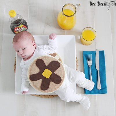 Baby Short Stack Pancake Costume