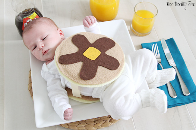 baby pancake costume 3