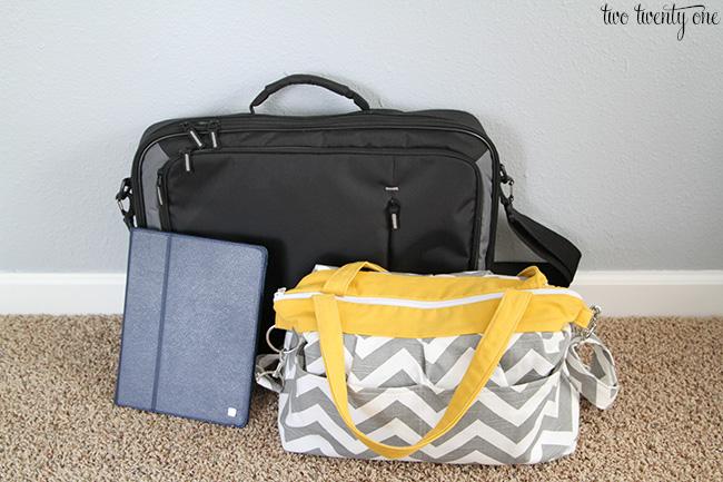 laptop ipad camera bag