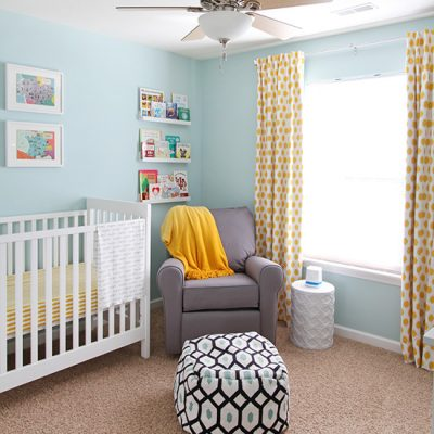 Owen's Bright and Colorful Nursery