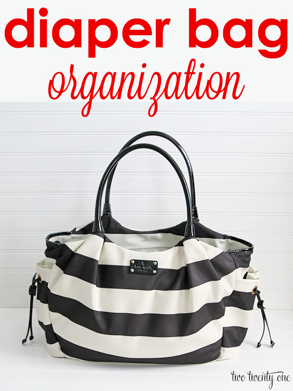 diaper bag organization 1