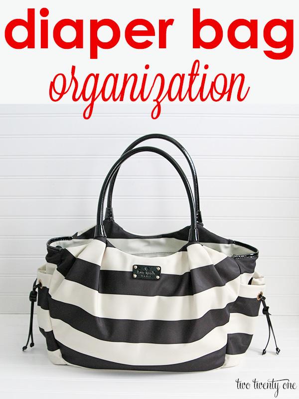 diaper bag organization 1
