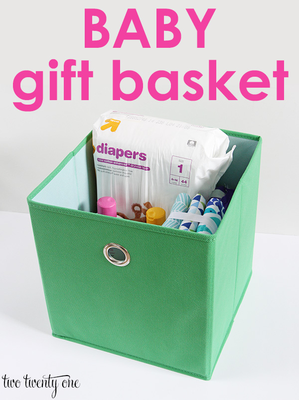 Baby Shower Gift Ideas Practical : Baby gift basket two twenty one