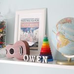 eclectic boy nursery