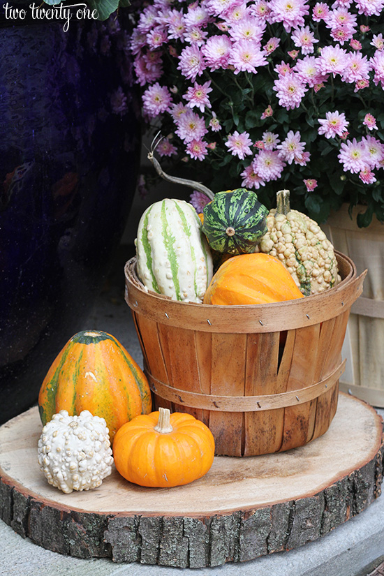 fall outdoor decor