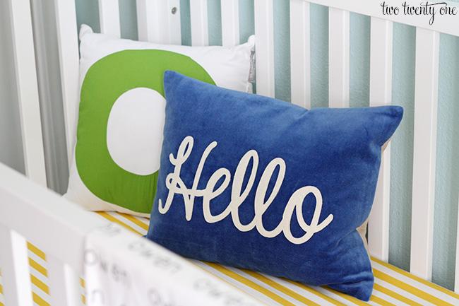 land of nod pillows