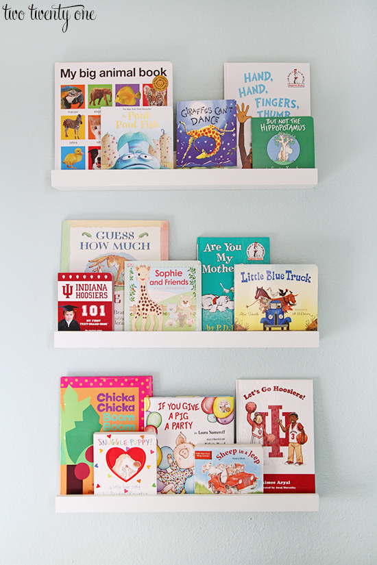 land of nod white book ledges