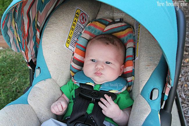 maxi cosi bohemian blue car seat