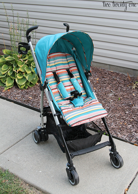 maxi cosi bohemian blue stroller