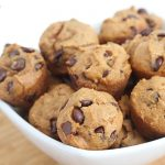 mini pumpkin chocolate chip muffins 4