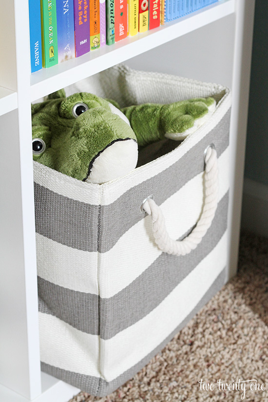crate and kids bin