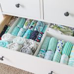 how to organize burp cloths