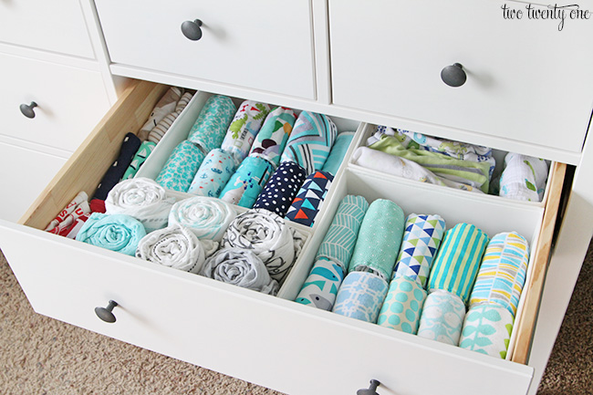 Baby organization tips for Baby organizer ideas