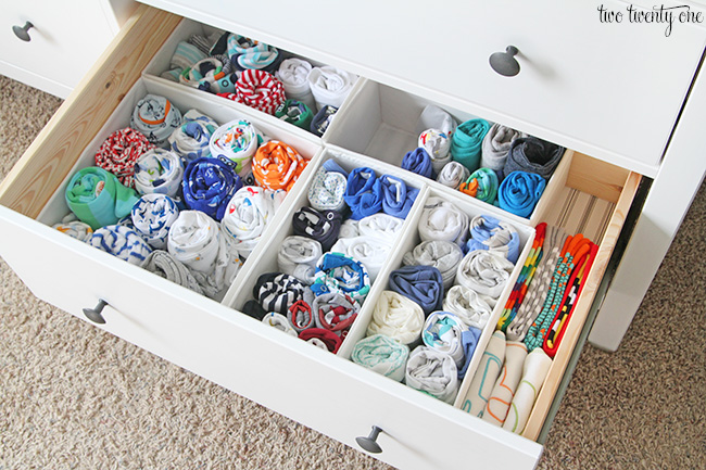 Nursery Dresser Organization Two Twenty One