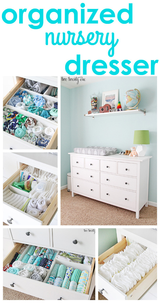 Image Result For Organizing Baby Dresser Drawers