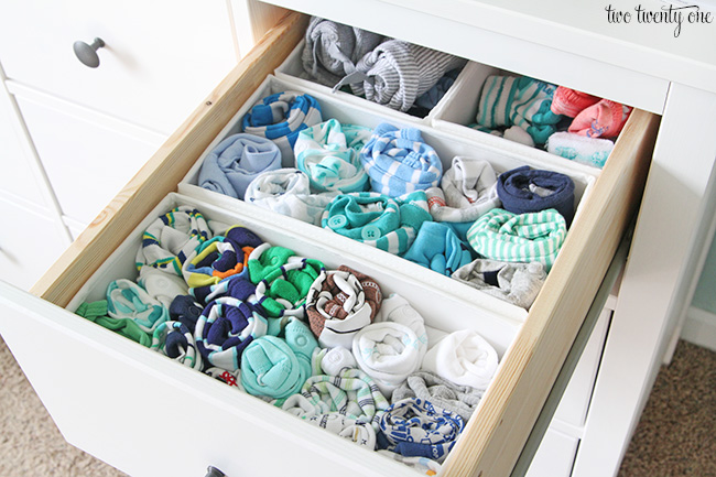 Nursery dresser organization - Best way to organize bedroom furniture ...