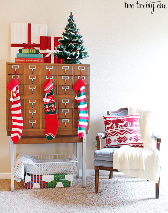 card catalog for christmas