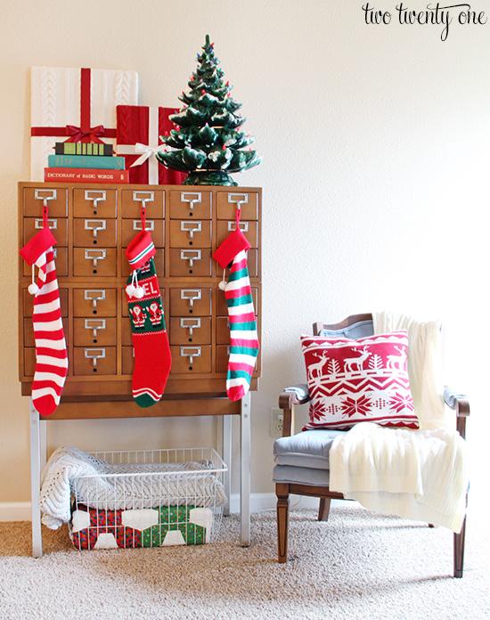 card catalog for christmas