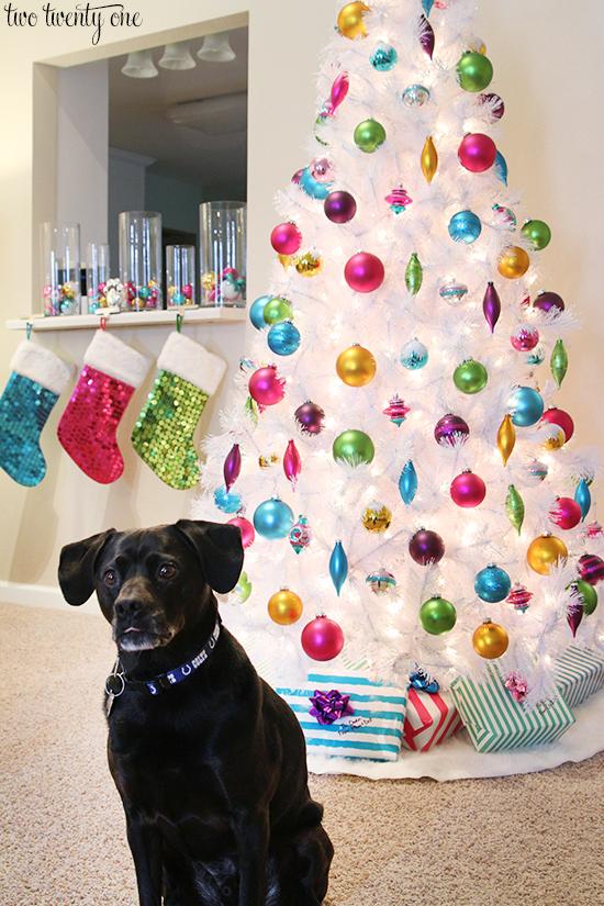 jack with christmas tree