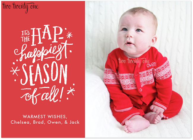 owen christmas card