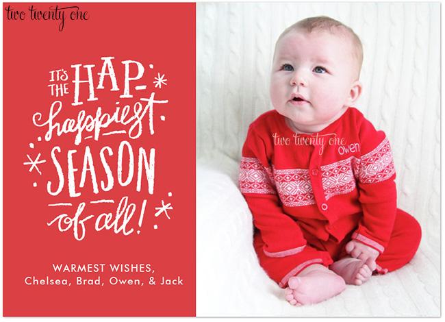 owen christmas card