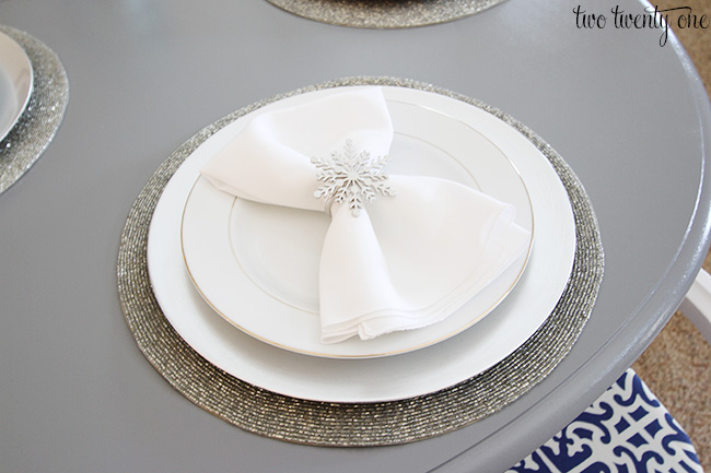 snowflake tablesetting