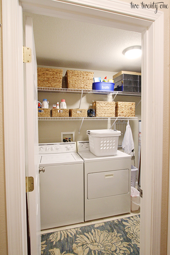 Laundry room organization for How to add a laundry room to your house