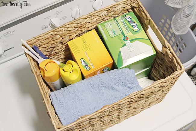 laundry room organization 1