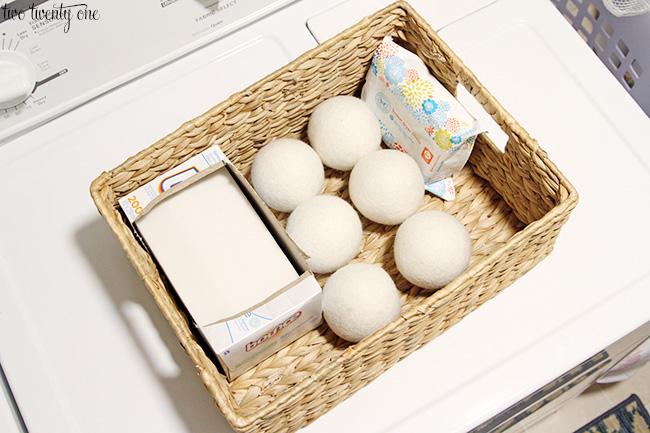 wool drying balls