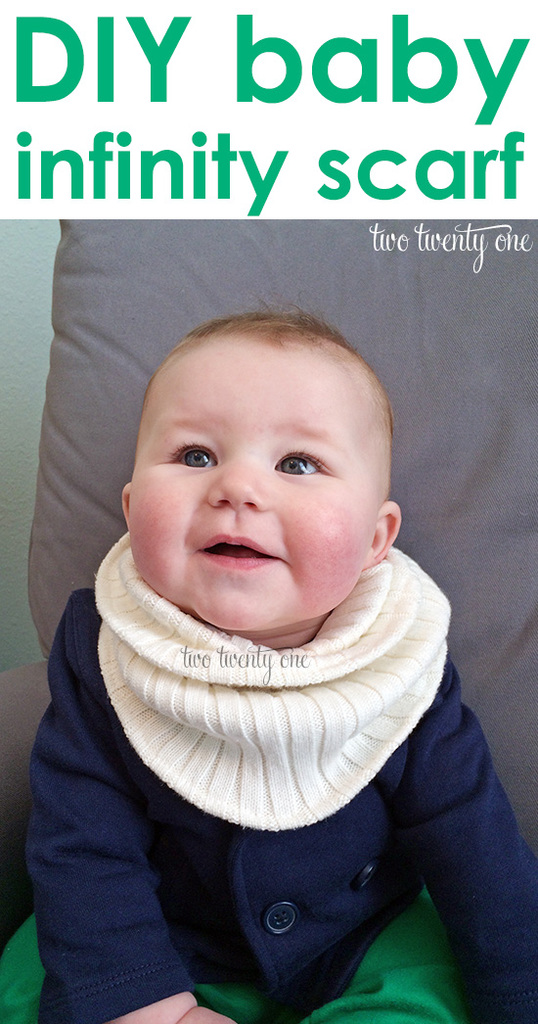 How to make a baby infinity scarf!