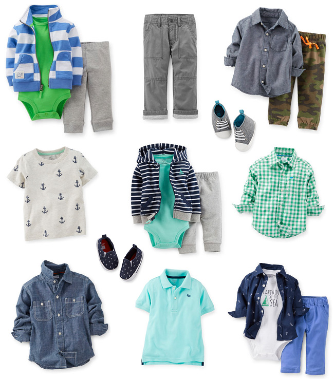 carters boy clothing