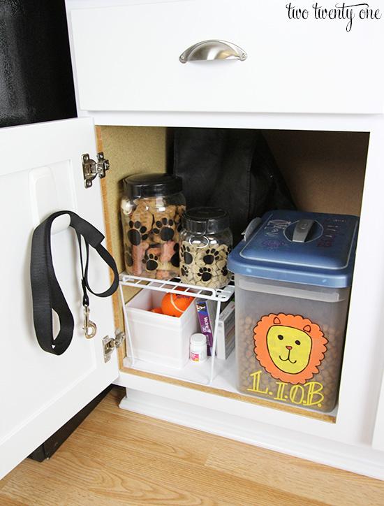 dog cabinet