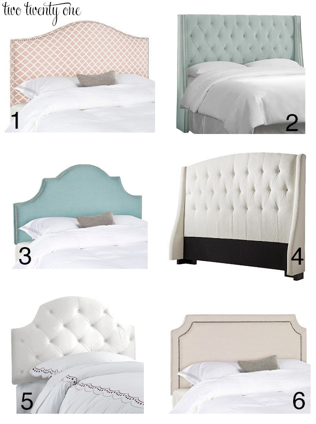 Unique Target upholstered headboards