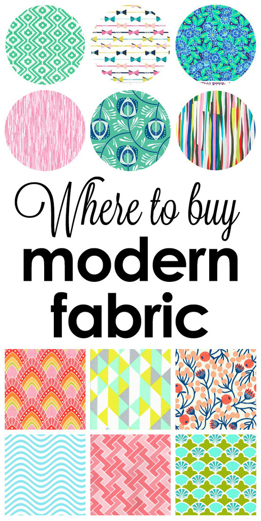Where to buy modern fabric!