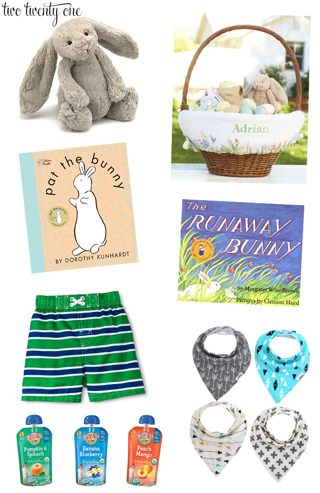 Babys first easter basket negle Choice Image