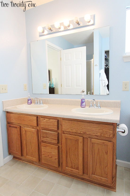 How To Update Bathroom Cabinets New Bathroom Countertops