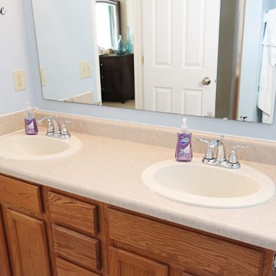 Bathroom Vanity Countertops + Giveaway