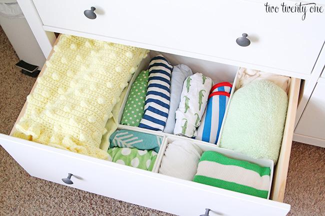 nursery dresser 1. Nursery Dresser Organization Update