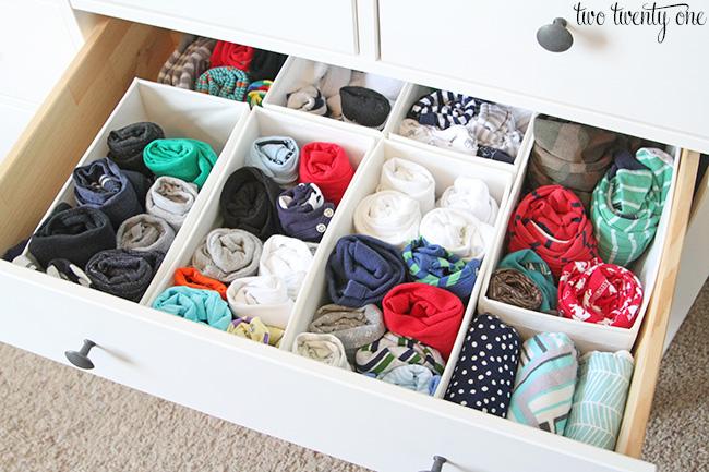 nursery dresser 2. Nursery Dresser Organization Update