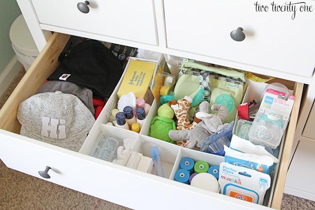 Nursery Dresser Organization Update
