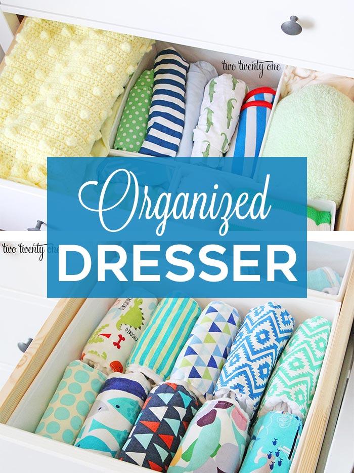 Organized dresser!