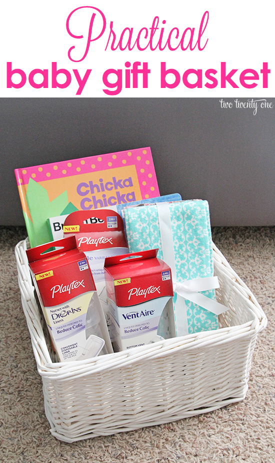 Baby Gift Pictures : Practical baby gift basket