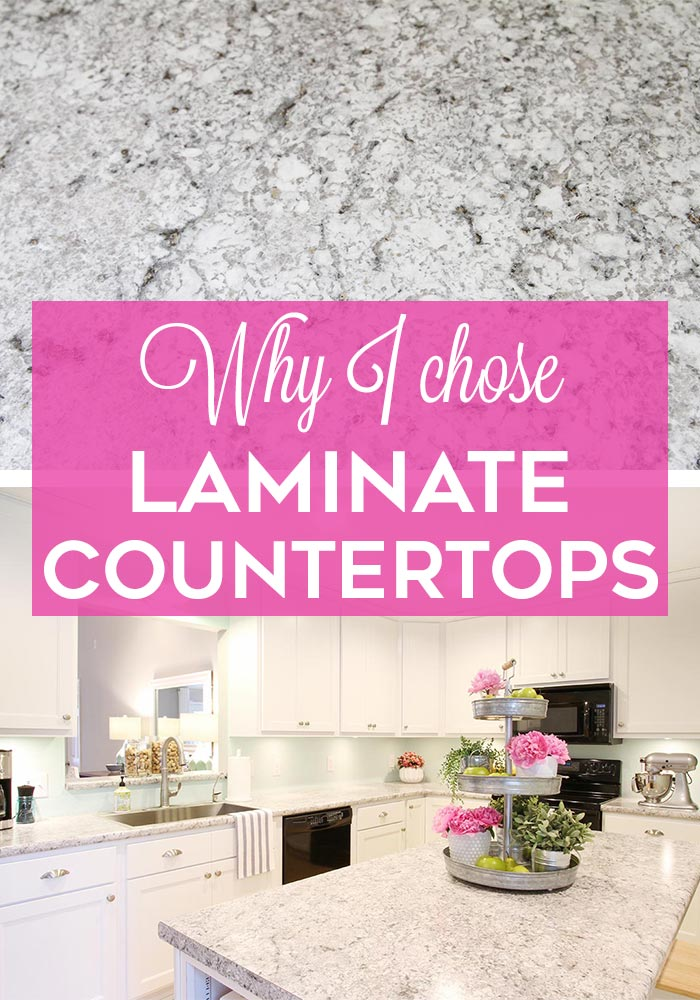 Why I chose laminate countertops