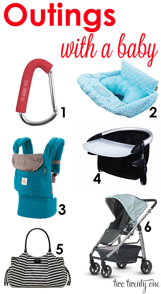 Products that make outings with a baby easier