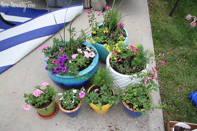 flower planters 3